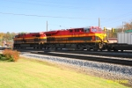 A pair of Belle's roll through Austell on NS 208