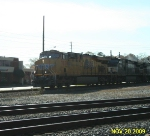 UP 7858 Racing through Austell, GA