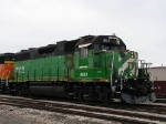 """Topeka-patched"" BNSF 2112"
