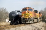 BNSF 5405 West at Coffeyton (Leasburg)