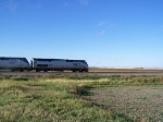 AMTK 177 Races West with the Empire Builder
