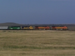 Rumblin' Across the Western North Dakota Prairie