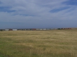 Manifest Train Stretched Out on the Plains