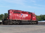 CP 6061 Rests in the Small CP Yard