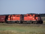 Old CP Rail SD40-2's