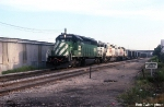 BN 7093, KCS 652, and 645 on Unit Coal