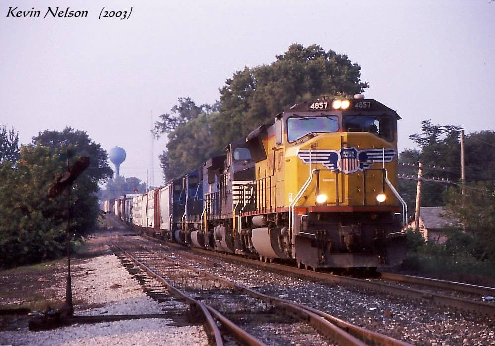UP 4857 SD70M