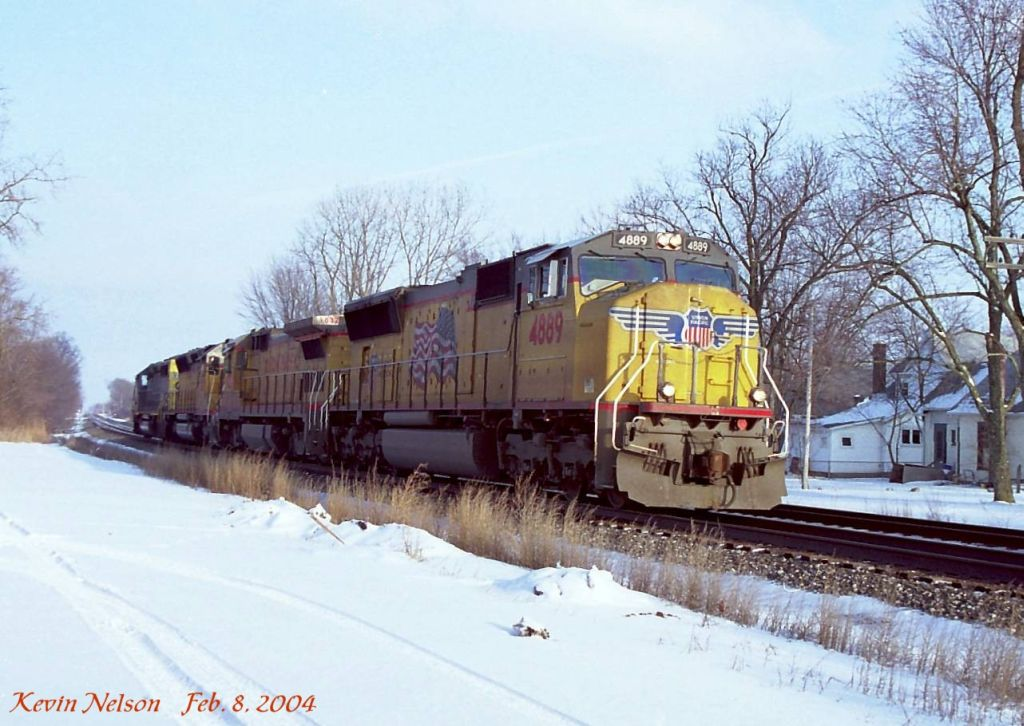 UP 4889 SD70M