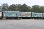 Disney Christmas Carol train