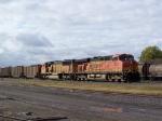 BNSF 5936 Leads a Coal Train East