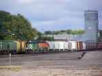 Local Freight Manifest Enters the BNSF Yard