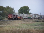 Headin' West With a Container Train