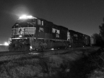 Black & White Night shot of NS 156