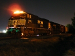 NS 156 tied down outside of Nixon Yard waiting for a crew