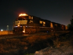 NS 156 tied down across the street from Augusta Regional Airport