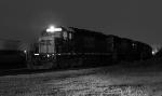 Black & White Night Shot of A761