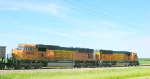 BNSF 9945 and 8948