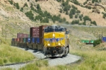 UP 7866 glides downgrade between Emory and Castle Rock, UT