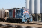 NPR 2286 Moves Hoppers at the Grain Elevator