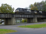 Norfolk Southern 9522 and 9107