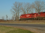 CP 8855 Northbound