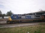 CSX C40-8W 7735