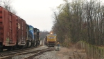 37Q meets 16T waiting in siding