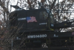 Saw this on the emd of SB work train