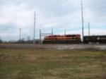 KCS 4113 helper on syrup train