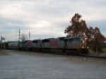 KCS 3955 mix freight