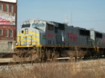 TFM 1656 & KCS 3957 on a south bound mix freight