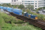 CSX 1158 leads transfer from FEC