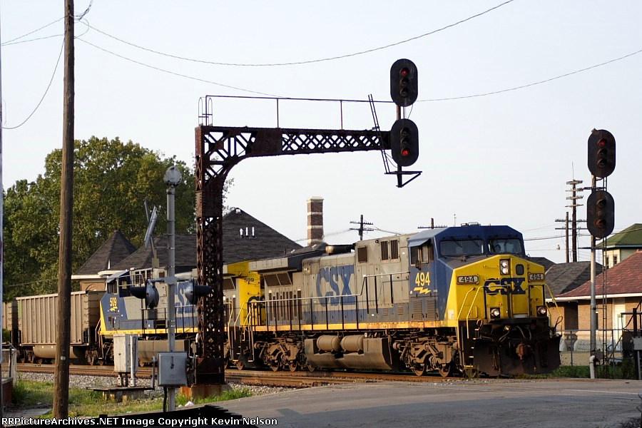 CSX 494 AC44-9CW