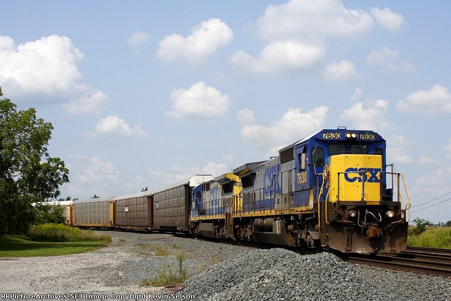 CSX 7630 C40-8