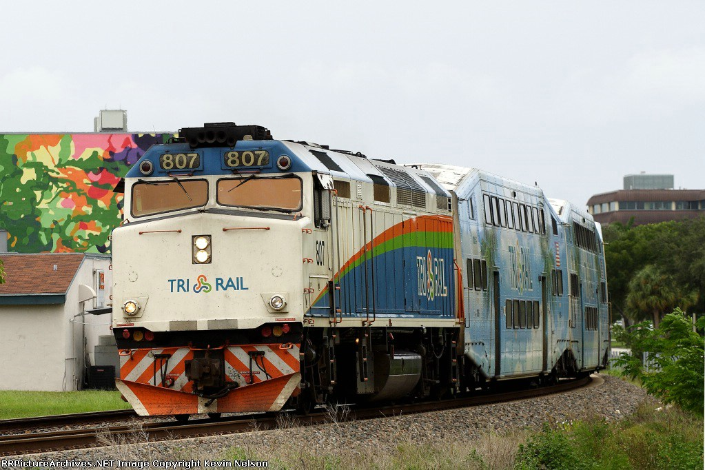 RailPictures.Net Photo: TRCX 807 Tri-Rail EMD F40PH at West Palm ...