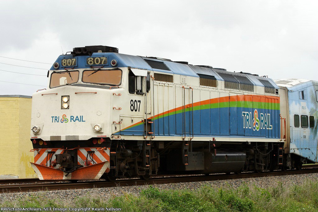N F40PH Florida Tri-Rail #807 *Kobo Custom* [176-9001-KB3 ...