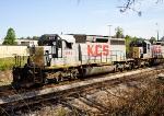 KCS 664 SD40-2