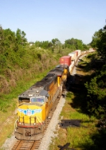 UP 4542 SD70M