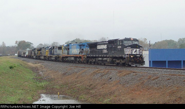 NS and TFM power on CSX