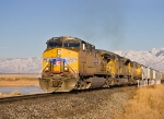 UP 5867 Crossing the Bear River
