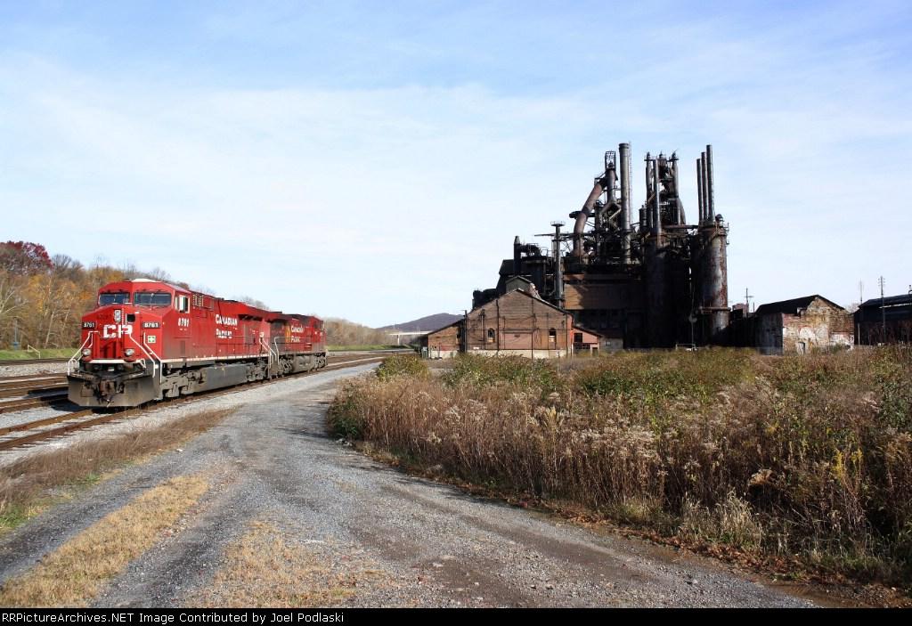 CP Power & Bethlehem Steel.