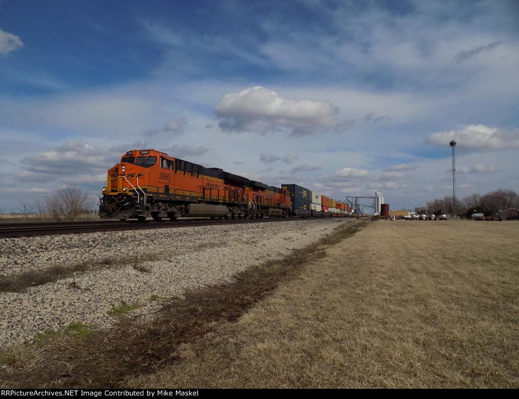 BNSF 3980
