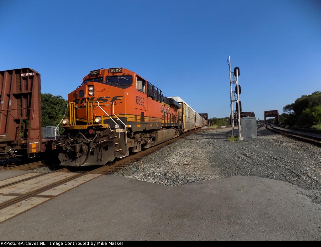 BNSF 6822
