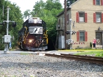 NS local passing through Mechanicsburg.