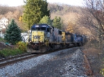 8508 works hard to the top of South Mountain on the old WM.