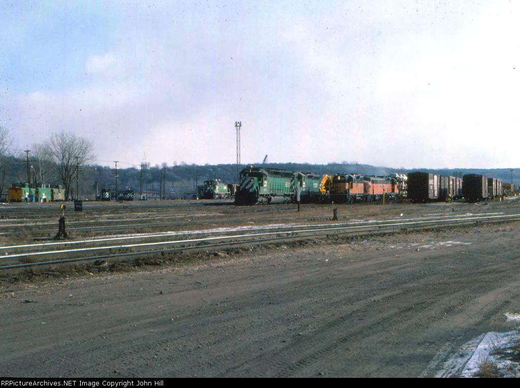 1031-13 BN Daytons Bluff Yard & MILW Pigs Eye Yard