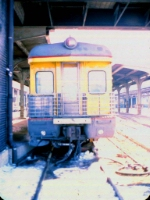 "1005-10 MILW business car [1st] ""Milwaukee"" in Mpls GN Depot"