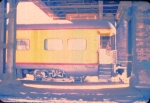 "1005-15 MILW business car [1st] ""Milwaukee"" in Mpls GN Depot"