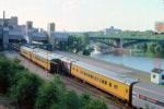 1013-19 Westbound Amtrak North Coast Hiawatha arrives Mpls GN Depot