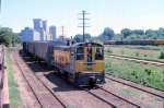 1014-30 C&NW local freight switches Burdick Elevators #1 & 2